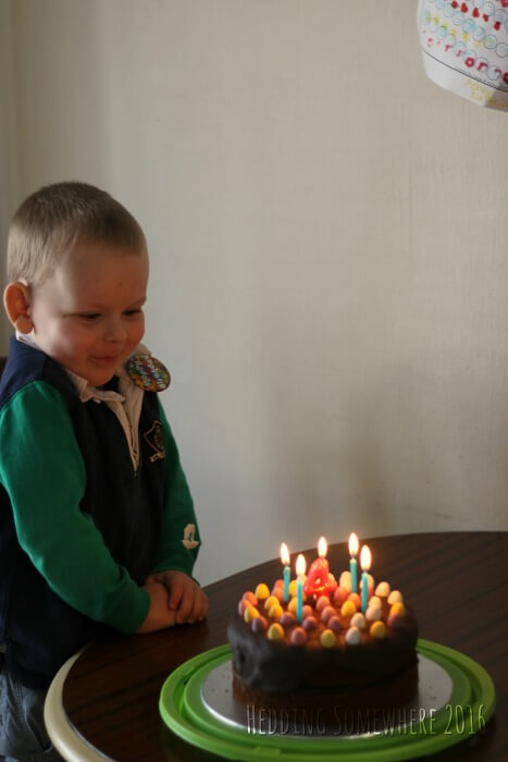 Asher's 4th birthday 2