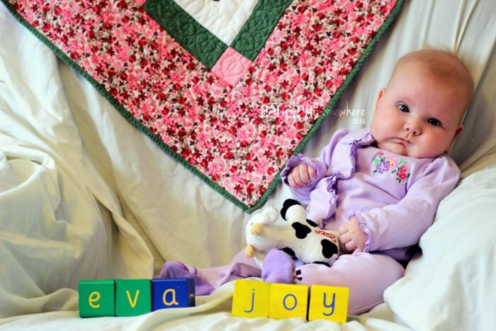 Eva Joy 4 months old 2