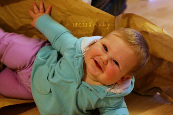 Eva Joy 9 months old