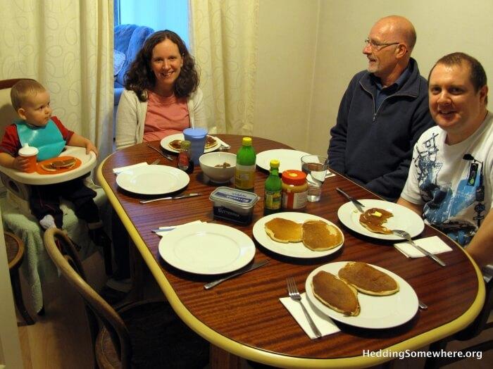 Home Group Pancakes