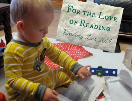 For the Love of Reading – Reading List 2014